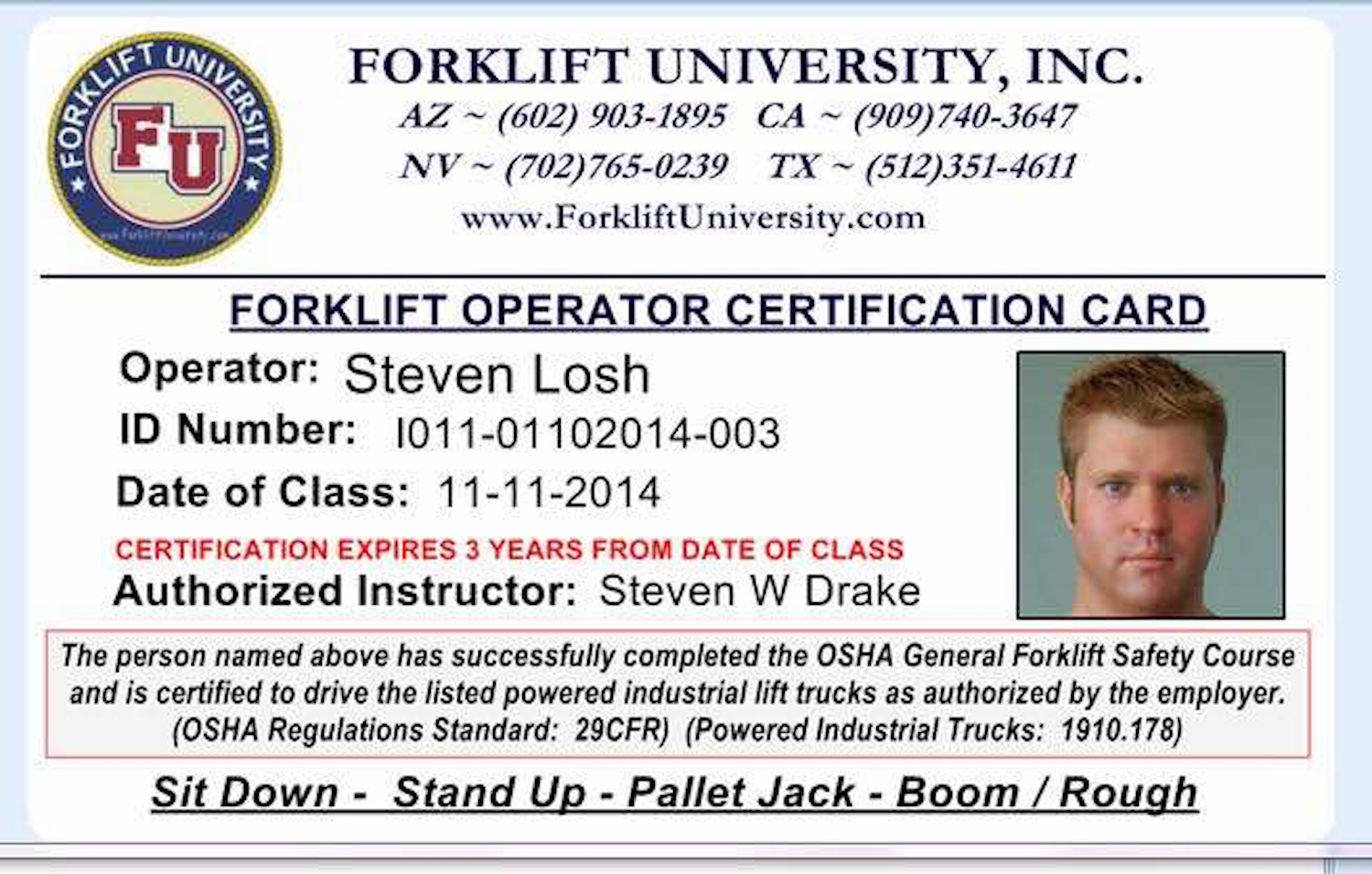 Forklift university blog get your forklift license online today xflitez Gallery